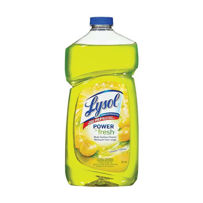 Multi-Surface All Purpose Cleaner Lemon Scent 800 mL