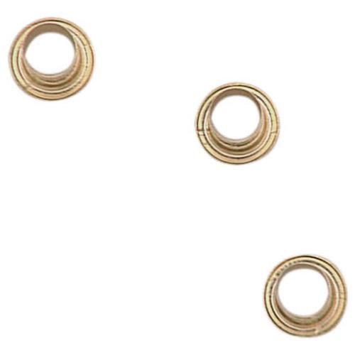 Metal Shelf Pin Sleeves - Brass - Pack of 24
