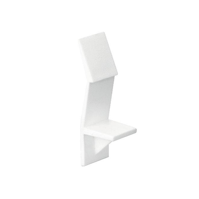 """Shelf Support - 1/4"""" - White - 8/Pack"""