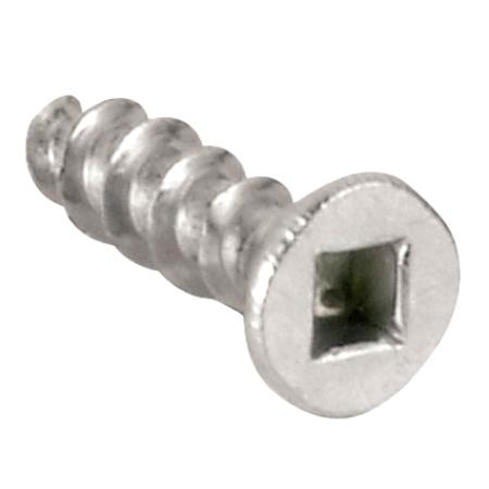 """Wood Screw - Zinc-Plated - #1 Quadrex Drive - #6x5/8"""" - 25/PK"""
