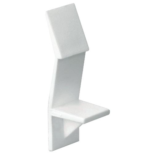 "Locking Shelf Pin - 3/16"" - White - 100-Pack"