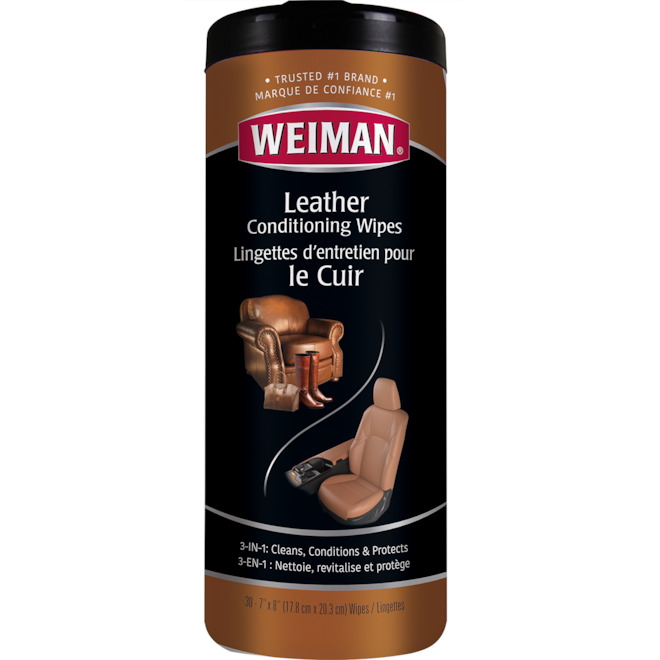 Cleaning Wipes for Leather - 30-Pack