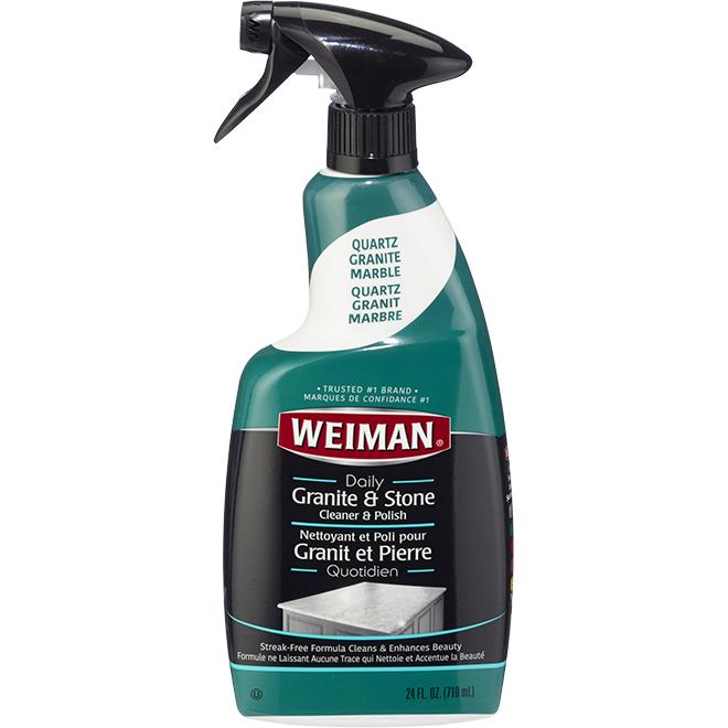 Weiman Granit Cleaner - Spray - 710 mL - Green