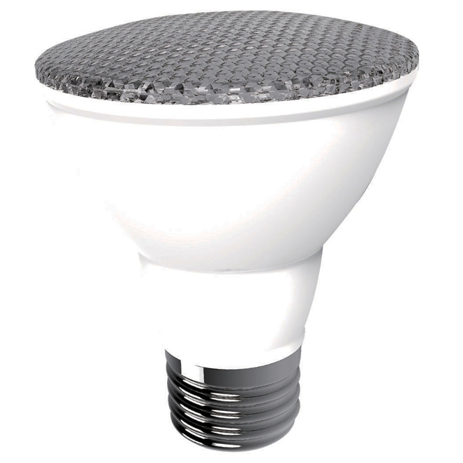 6.5W LED Dimmable PAR20 Bulb - White - 2-Pack