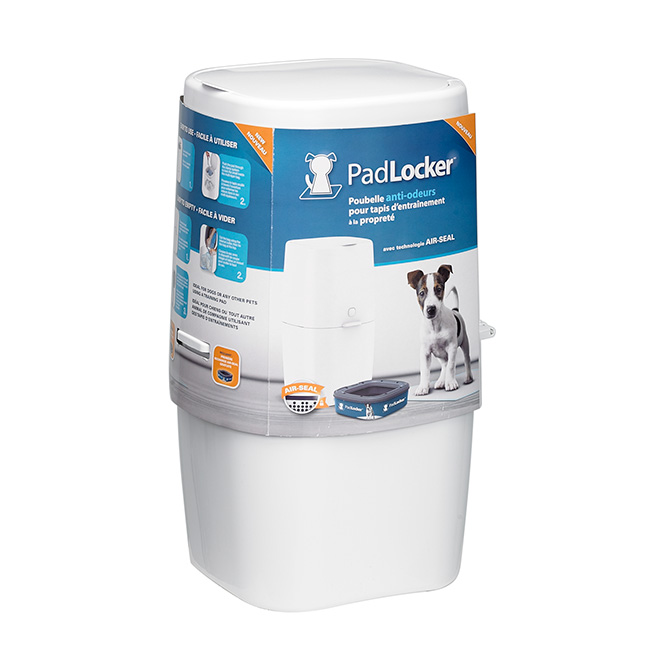 "Puppy Pad Disposal Pail - ""PadLocker"""
