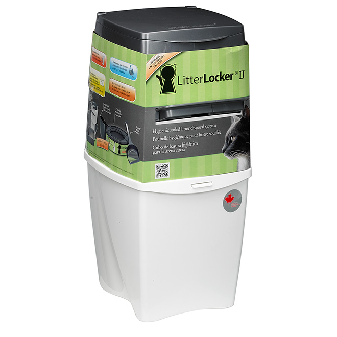 """LitterLocker II"" Cat Litter Disposal Pail"