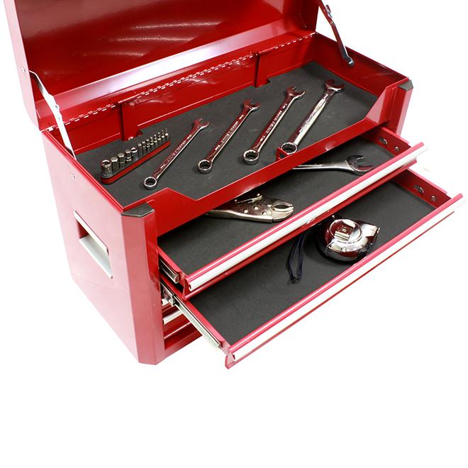 """Doublure Armortech pour boîte à outils, 18"""" x 80"""", noir"""
