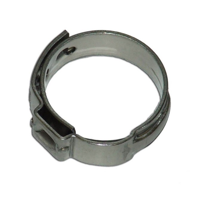 "Pipe Clamp - PEX - 3/4"" - Box of 50 - Stainless Steel"