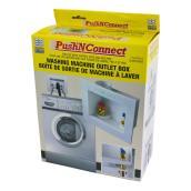 Boîte de sortie Push N Connect de Waterline pour laveuse