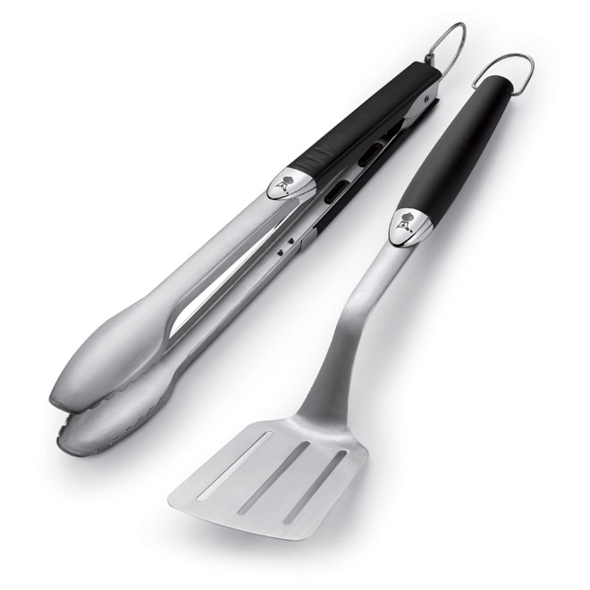 Weber Set of 2 Barbecue Tools - Stainless Steel