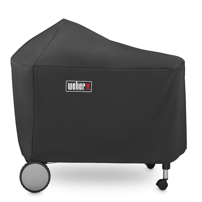 Weber Performer Grill Cover With Storage Bag - Nylon - Black