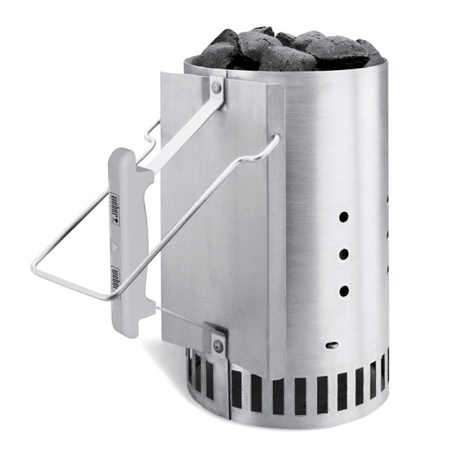 Weber Rapidfire® Chimney Starter - Aluminum