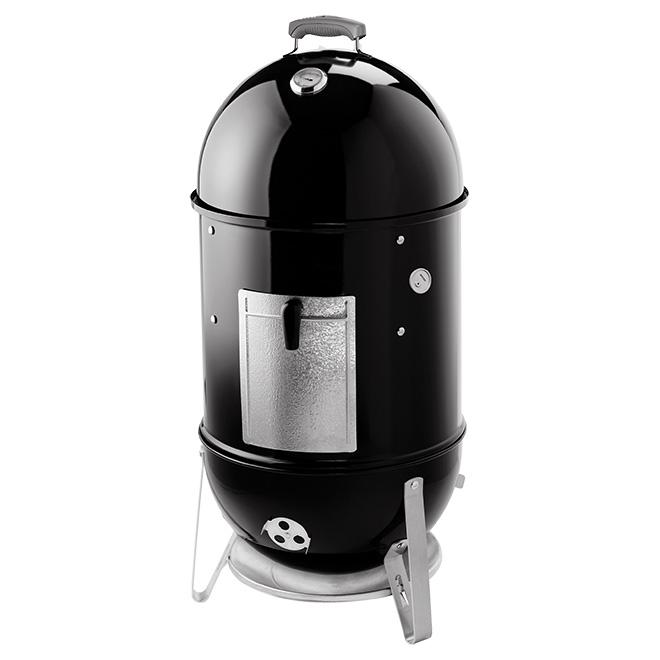 Fumoir Weber Smokey Mount, acier émaillé, 481 po², noir