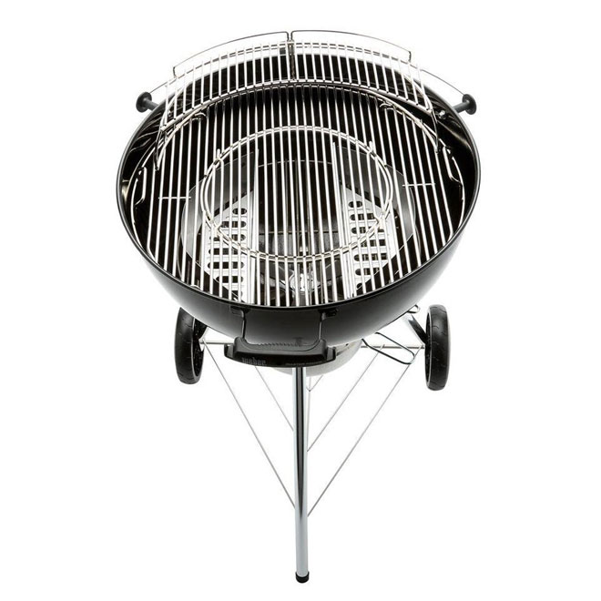 Weber Master-Touch® Charcoal BBQ - 443 sq. in. - Black