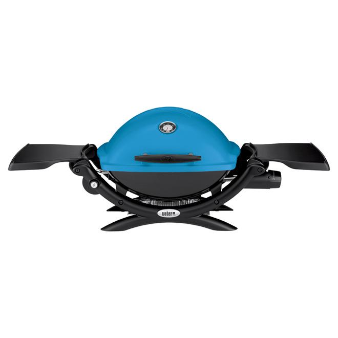 Weber Q 1200 - Portable Liquid Propane Gas Barbecue - 189 sq.in. - Blue
