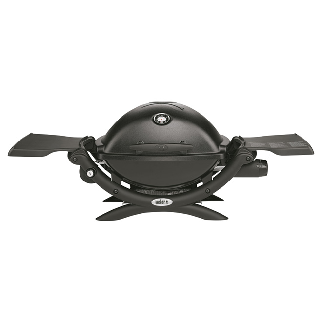 Weber Q(R) 1200(TM) Propane Gas Barbecue - Portable - Black