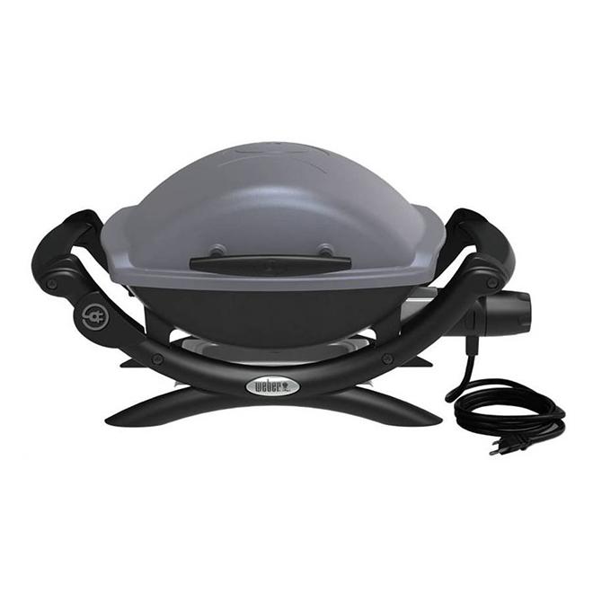 Barbecue électrique portatif Q 1400, 1560 W, 189 po², gris