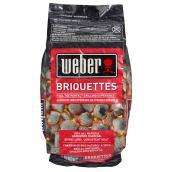 Weber Natural Hardwood Charcoal Briquettes - 20 lb