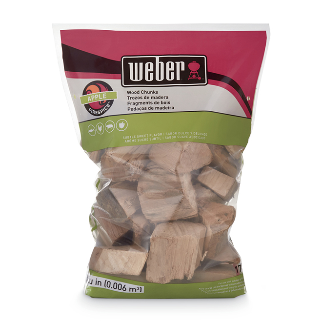 Weber® Smoking Wood Chunks - Apple Wood - 4 lbs
