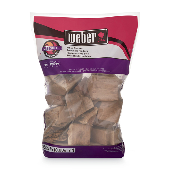 Weber® Smoking Wood Chunks - Mesquite - 4 lbs