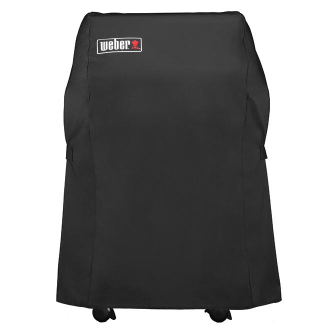 Cover for Dual-Burner Weber SpiritII® Barbecues - Black