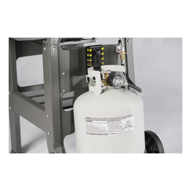 Weber Spirit II E210 Liquid Propane Gas Grill - 450 sq in - Black