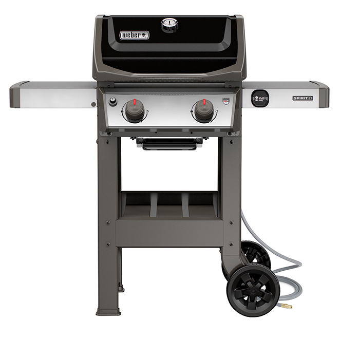 Weber Spirit II E-210 Natural Gas Grill - 26,500 BTU - Black
