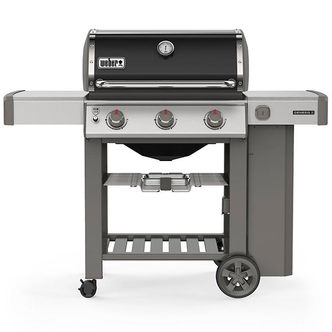 Barbecue au gaz propane Genesis E-310, 39 000 BTU, noir