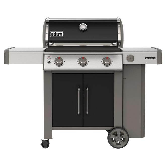 Propane Gas BBQ - Genesis E-315 - 39,000 BTU - Black