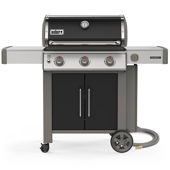 Natural Gas BBQ - Genesis E-315 - Black