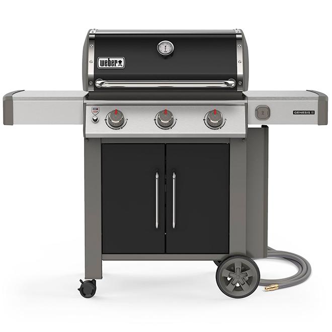 Barbecue Weber Genesis E-315 gaz naturel de 39 000 BTU, noir