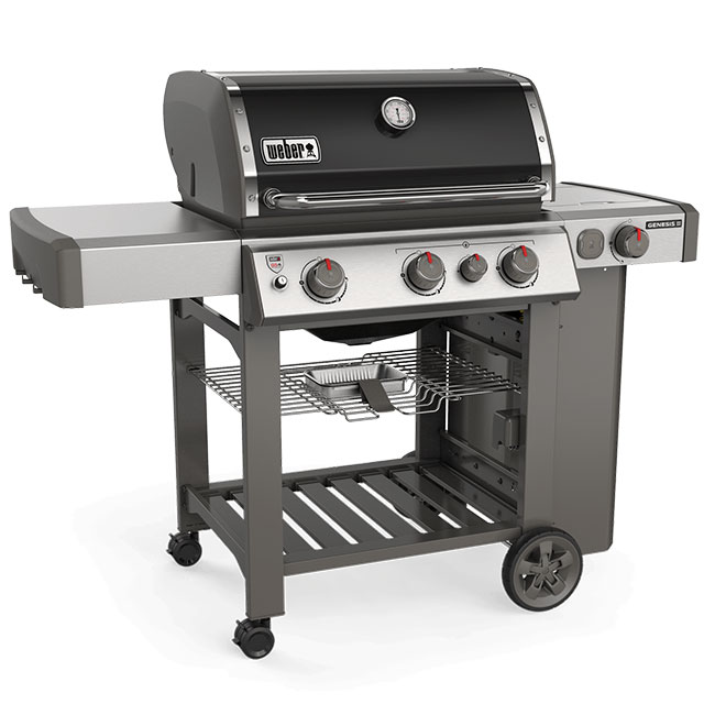 Barbecue au gaz propane Genesis E-330, noir
