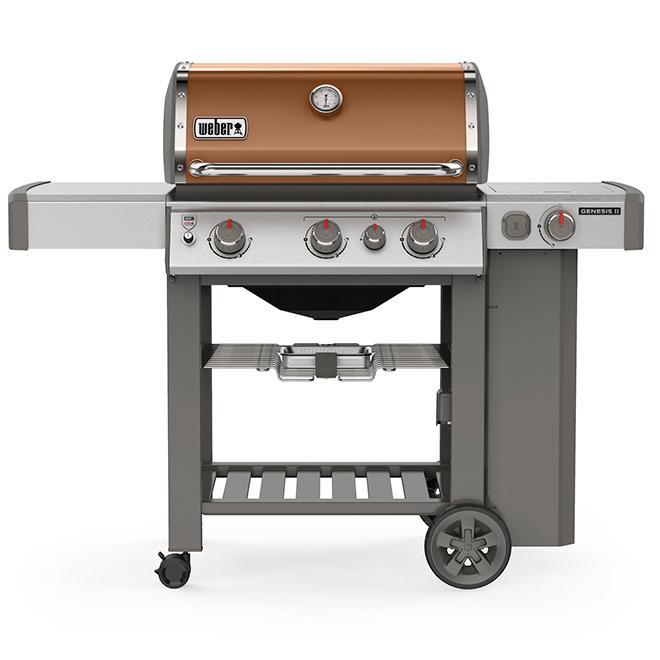 Barbecue au gaz propane Genesis E-330, bronze