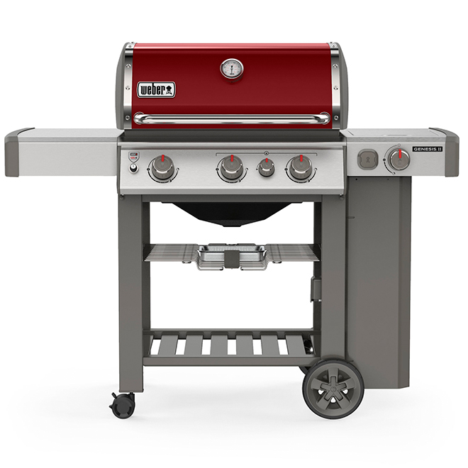 Propane Gas BBQ - Genesis E-330 - Crimson