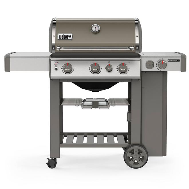 Propane Gas BBQ - Genesis E-330 - Smoke