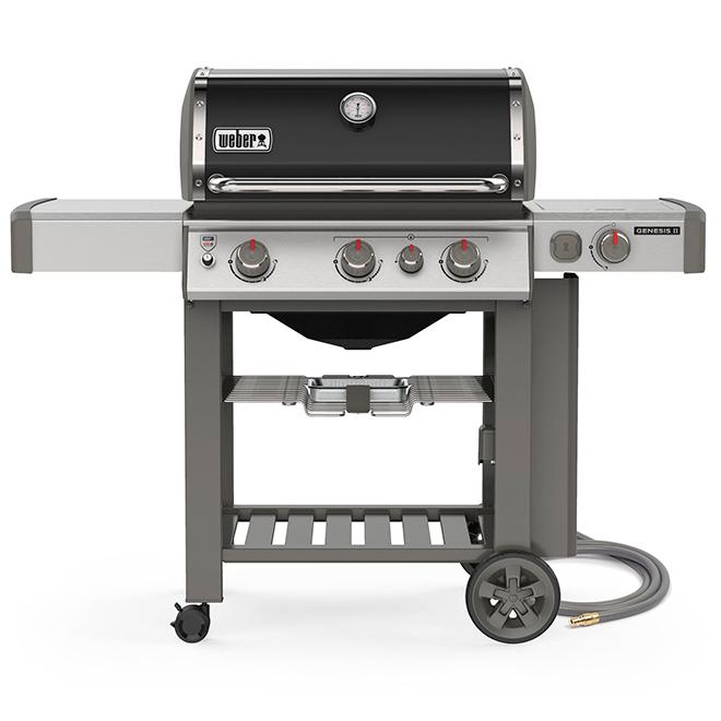 Natural Gas BBQ - Genesis E-330 - Black