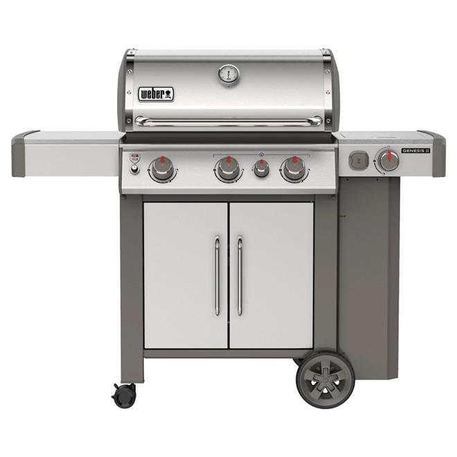 Propane Gas BBQ - 39,000 BTU - Stainless Steel