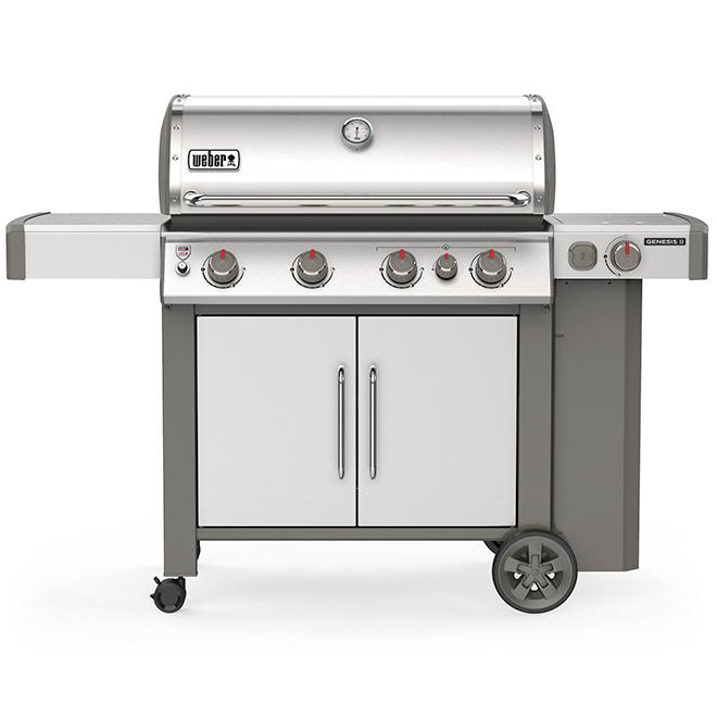 Propane Gas BBQ - Genesis S-435 - 69,000 BTU - Stainless Steel