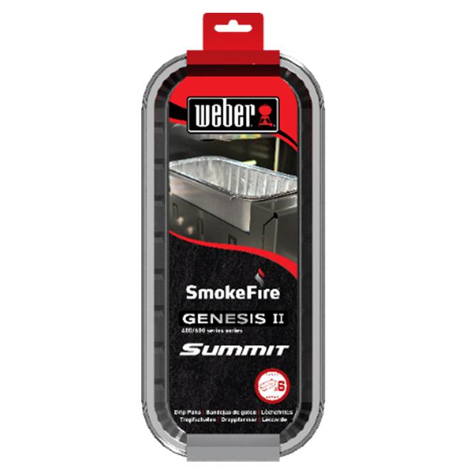 Weber Smokefire Disposable Drip Pan - Aluminum