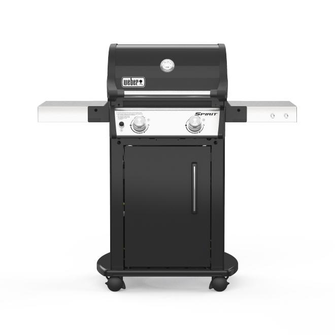 Barbecue Weber Spirit E-215 gaz naturel de 26 500 BTU à 2 brûleurs, noir
