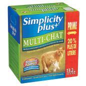 Litière pour chat «Simplicity Plus», 13,2 kg