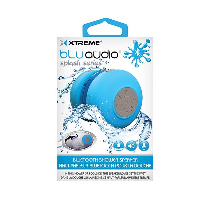 Haut-parleur «Bluetooth» pour la douche