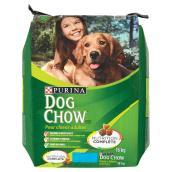 Nourriture sèche pour chien « Dog Chow » avec du vrai boeuf