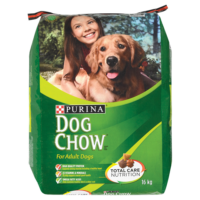 """Dry Dog Food - """"Dog Chow"""" with Real Beef"""
