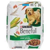 Nourriture sèche pour chien, poulet, sac de 14 kg