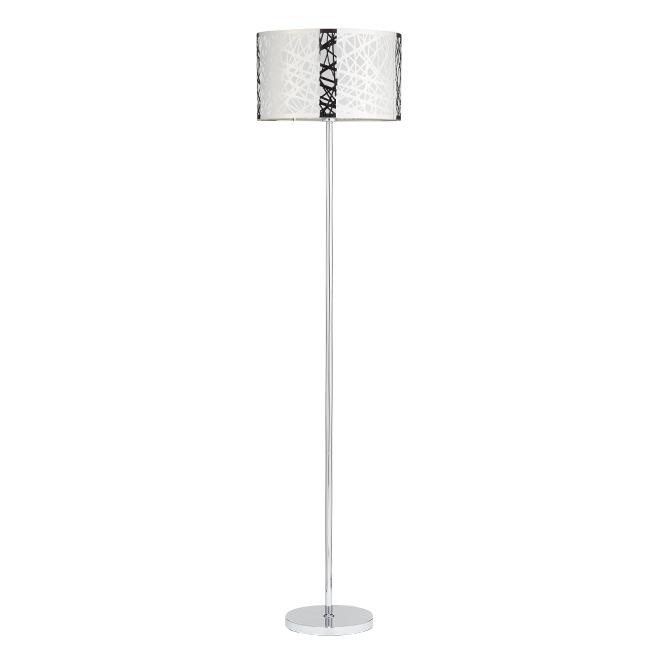 Nice floor lamp 123 cm chrome rona nice floor lamp 123 cm chrome aloadofball Gallery