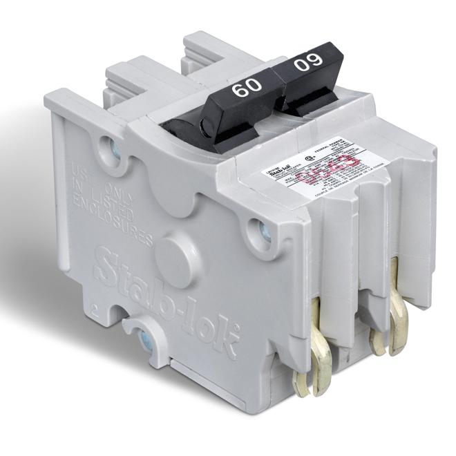 Disjoncteur (NA) 60A 2P