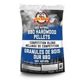 Granules de bois pour barbecue