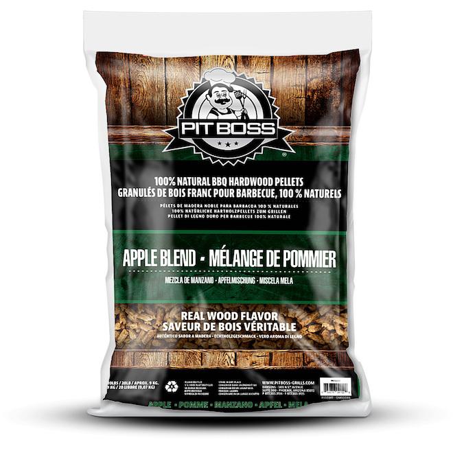 Granules de bois dur Pit Boss, bois de pomme, 20 lb