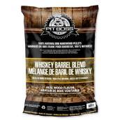 Granules de bois dur Pit Boss, baril de whisky, 20 lb